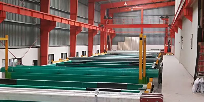 ANDON High Level Aluminum Anodization Technology Use for India Market Again